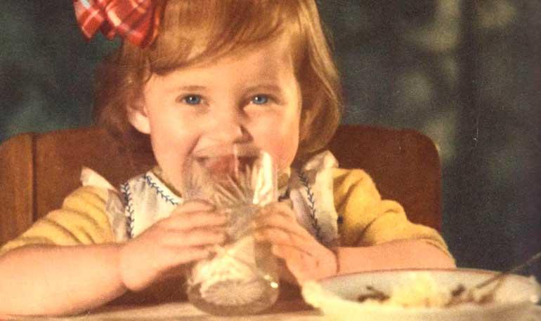 ce qui a nourri les enfants à l'URSS