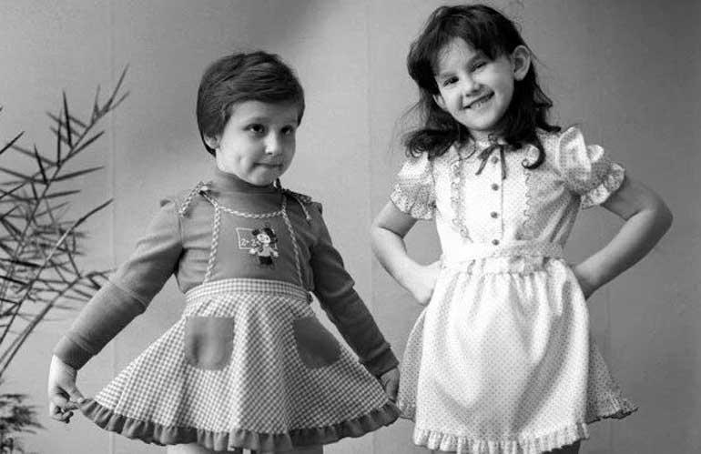 vêtements de l'URSS pour les enfants
